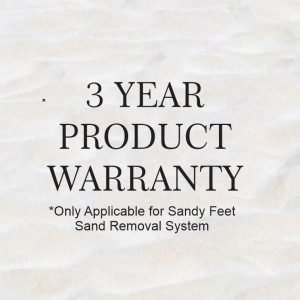 3 year warranty sandy feet sprayer sand removal sysytem